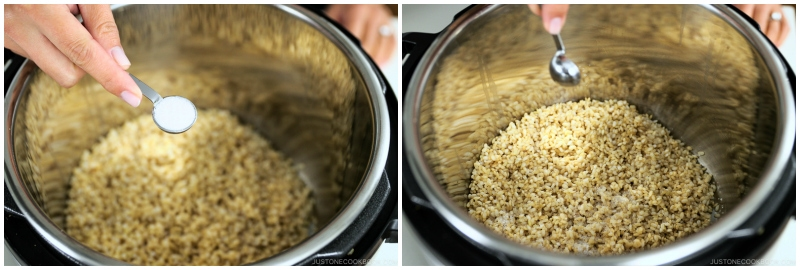 Instant Pot Brown Rice 7