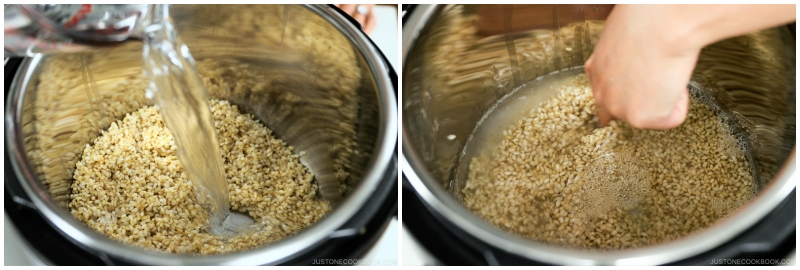 Instant Pot Brown Rice 8