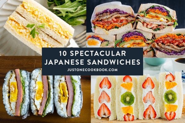 popular japanese sandwiches