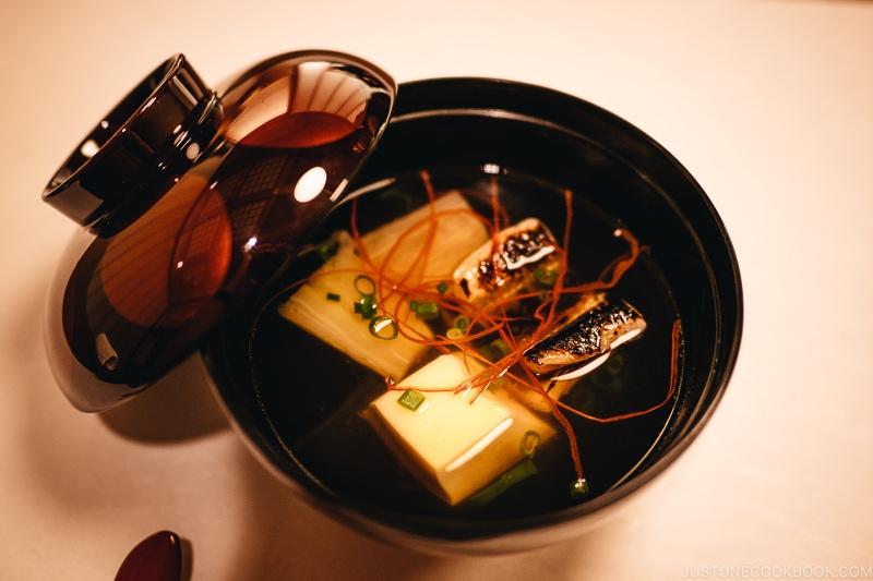 Wan-mono/Owan 椀物/御椀 - Kaiseki Ryori: The Art of the Japanese Refined Multi-course Meal | www.justonecookbook.com