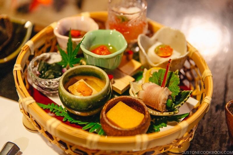 Sakizuke 先付 - Kaiseki Ryori: The Art of the Japanese Refined Multi-course Meal | www.justonecookbook.com