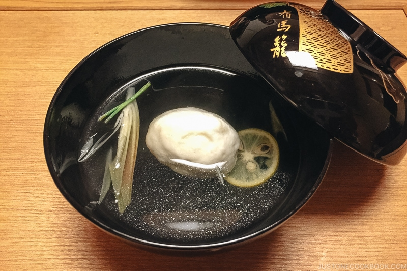 Wan-mono/Owan 椀物/御椀 - Kaiseki Ryori: The Art of the Japanese Refined Multi-course Meal | www.justonecookbook.com