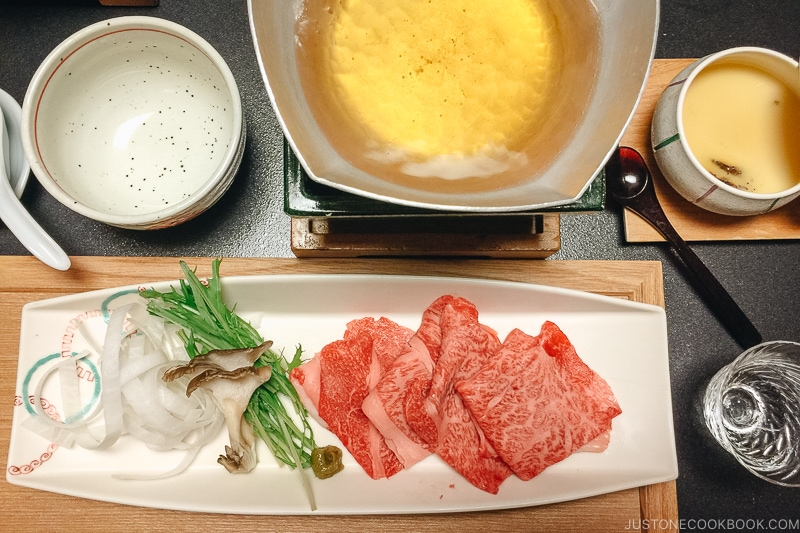 shabu shabu - Kaiseki Ryori: The Art of the Japanese Refined Multi-course Meal | www.justonecookbook.com