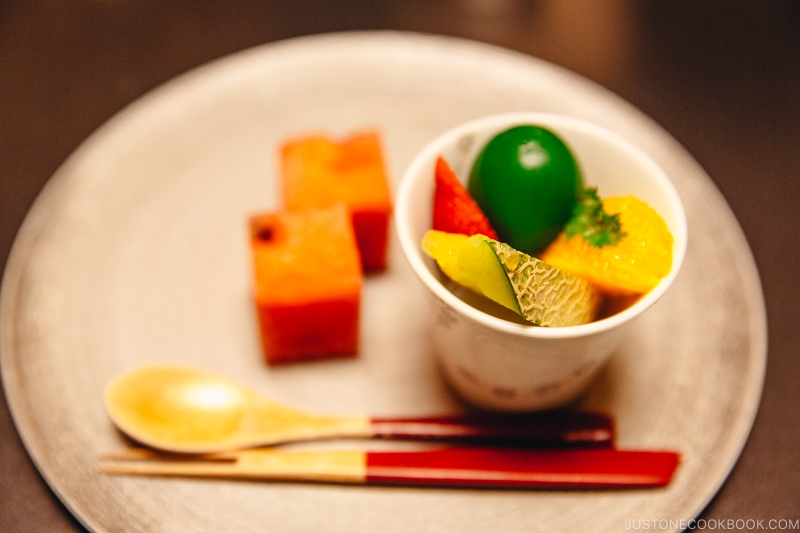 Kanmi 甘味 - Kaiseki Ryori: The Art of the Japanese Refined Multi-course Meal | www.justonecookbook.com