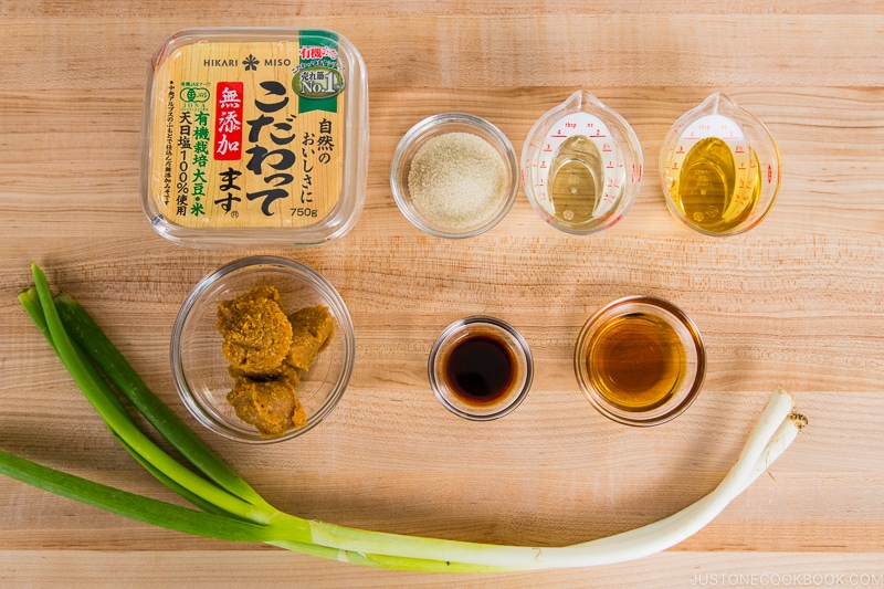 Negi Miso Ingredients