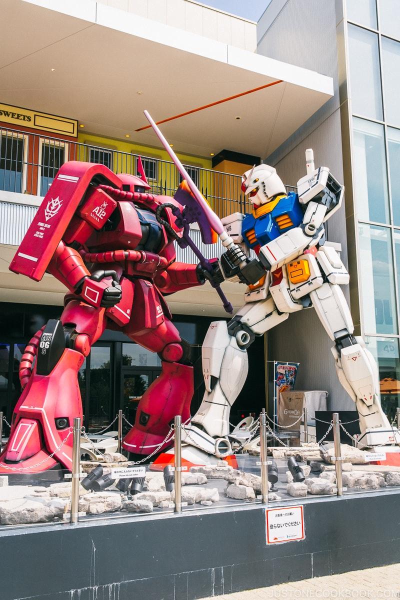 Gundam Square Wonder Moments by Takahiro Matsuo NIFREL - Osaka Guide: Expocity | www.justonecookbook.com