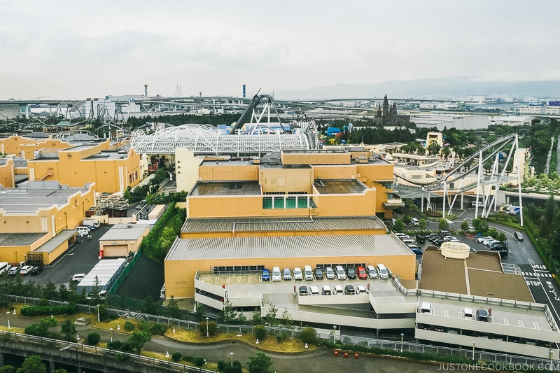 view of Universal Studios Japan - Osaka Guide: Universal Studios Japan | www.justonecookbook.com