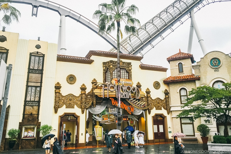 Hollywood Dream ride - Osaka Guide: Universal Studios Japan | www.justonecookbook.com