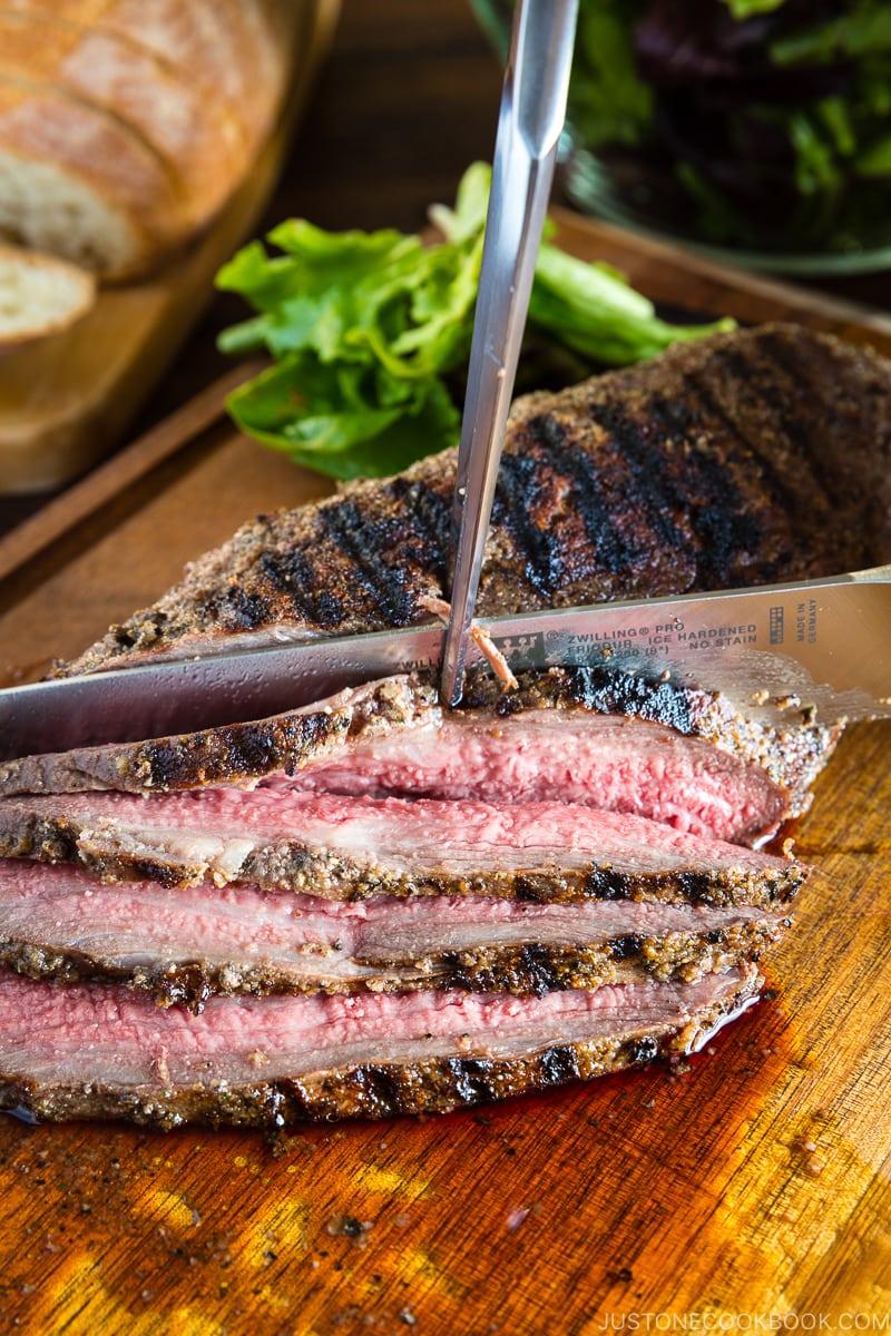 Santa Maria Tri-Tip - 12 Summer BBQ & Potluck Recipes Your Guests Would Love | Easy Japanese Recipes at JustOneCookbook.com