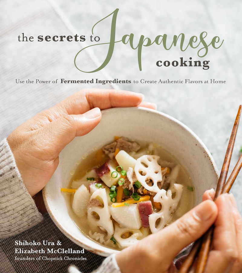The secrets to Japanese Cooking cookbook cover image