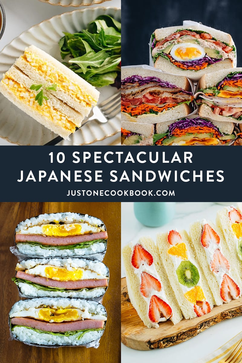 10 Spectacular Japanese Sandwiches To Make This Summer and