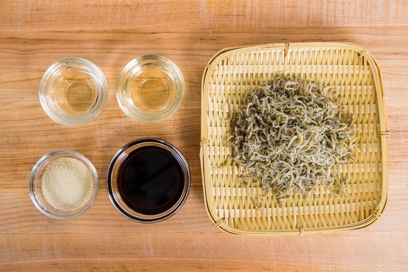 Baby Sardine Tsukudani Ingredients