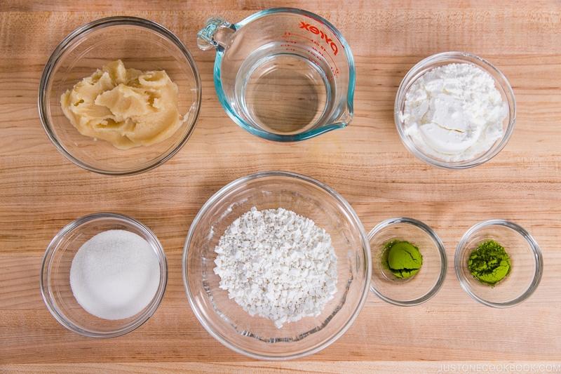 Green Tea Mochi Ingredients