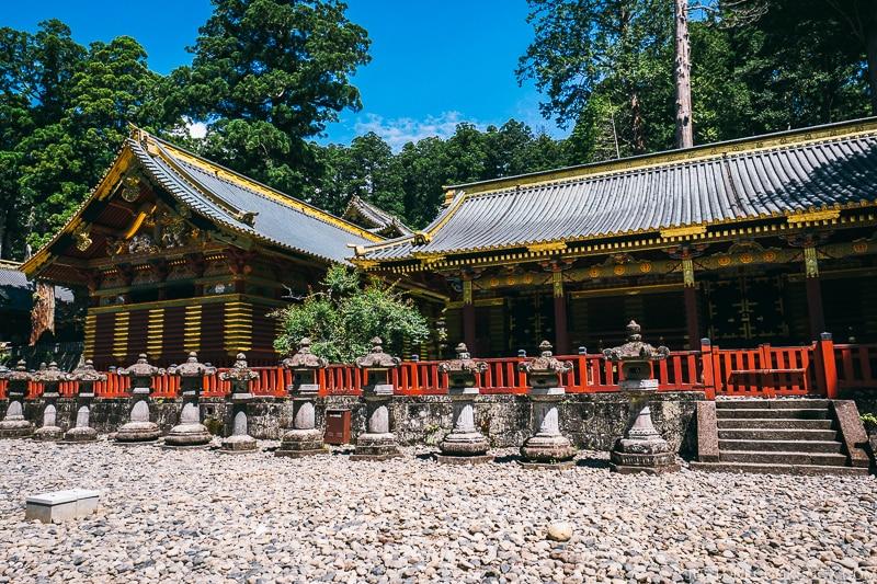 Sanjinko (Three Sacred Storehouses) - Nikko Travel Guide : Nikko Toshogu Shrine | www.justonecookbook.com