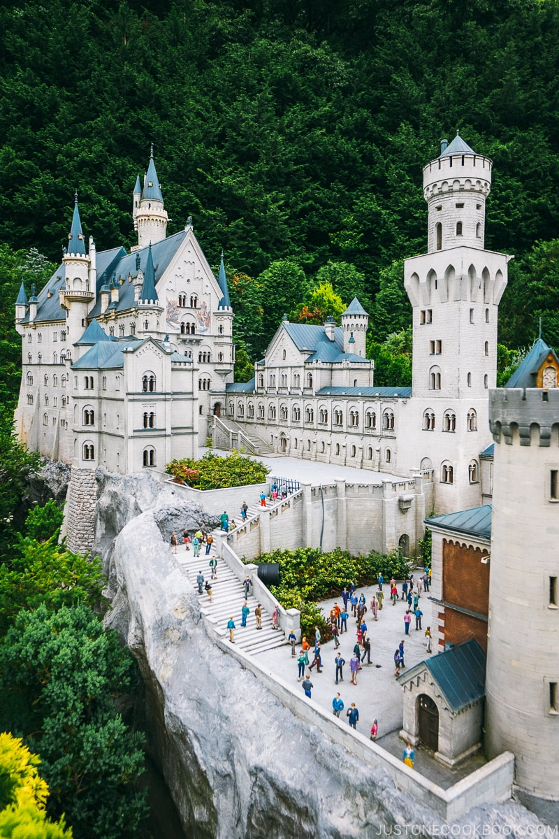 Neuschwanstein Castle - Nikko Travel Guide : Tobu World Square | www.justonecookbook.com