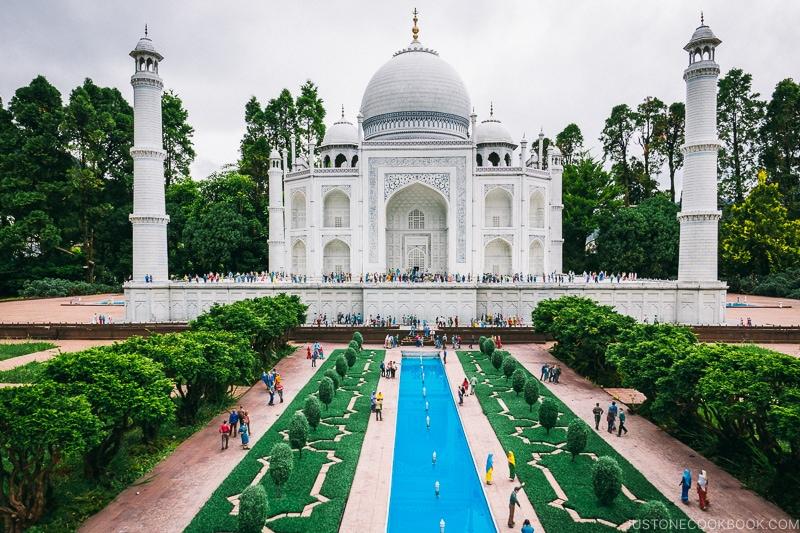 Taj Mahal - Nikko Travel Guide : Tobu World Square | www.justonecookbook.com