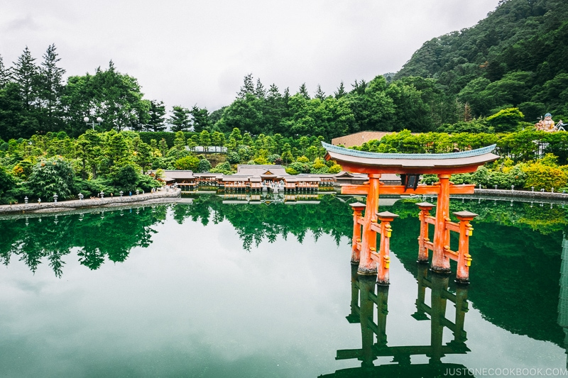 Itsukushima Shrine and Torii Gate - Nikko Travel Guide : Tobu World Square | www.justonecookbook.com
