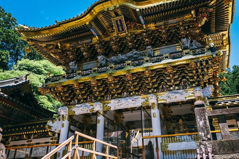 Nikko Toshogu Yomeimon - Places to Visit and Things to do in Nikko | www.justonecookbook.com