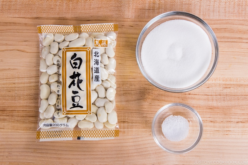 White Bean Paste Ingredients