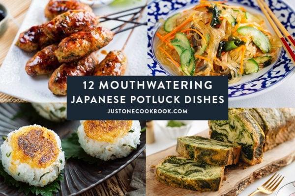 Japanese potluck recipe ideas