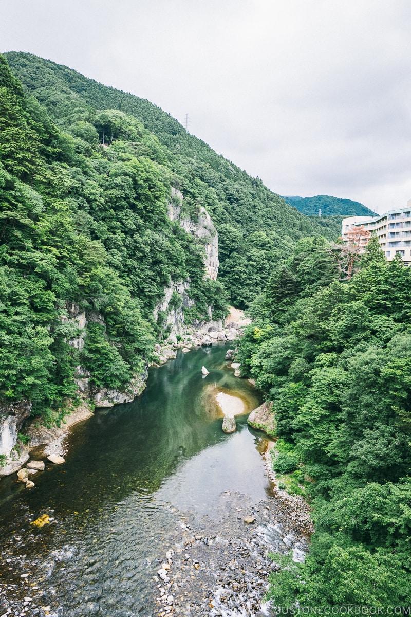 Kinugawa River - - Nikko Travel Guide : Kinugawa Onsen | www.justonecookbook.com
