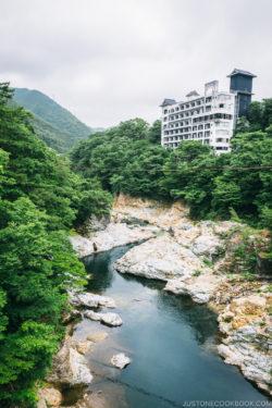 Kinugawa river - Nikko Travel Guide : Kinugawa Onsen | www.justonecookbook.com