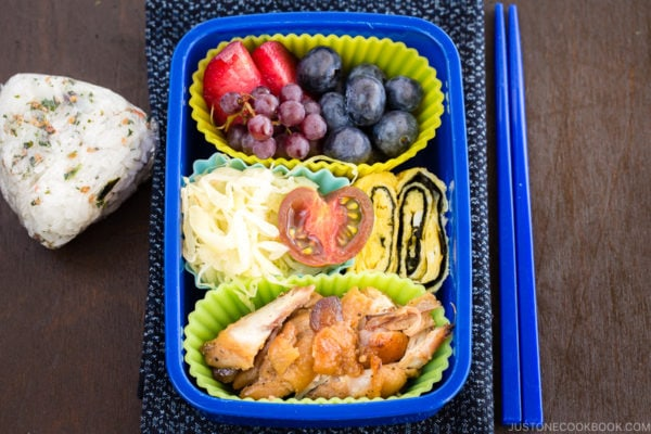 Honey Soy Sauce Chicken Bento