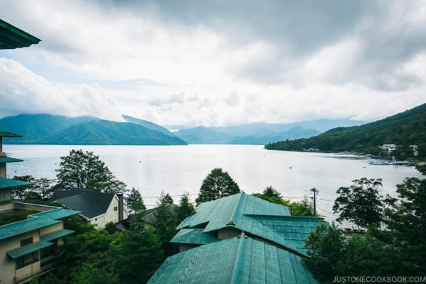 view of Lake Chuzenji - Things to do around Lake Chuzenji | www.justonecookbook.com
