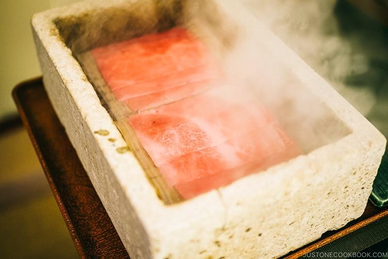 beef steamed in oya stone - Oya History Museum | www.justonecookbook.com