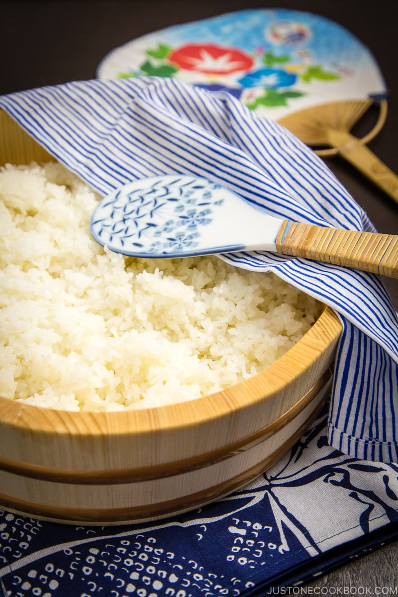 How To Make Sushi Rice 酢飯 Just One Cookbook
