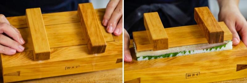 Mackerel Pressed Sushi 18