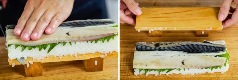 Mackerel Pressed Sushi 20