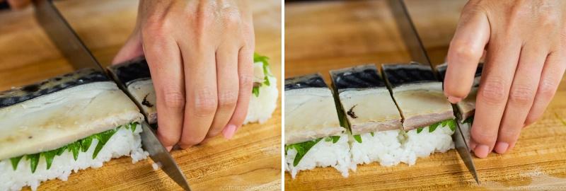 Mackerel Pressed Sushi 21