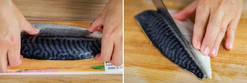 Mackerel Pressed Sushi 8