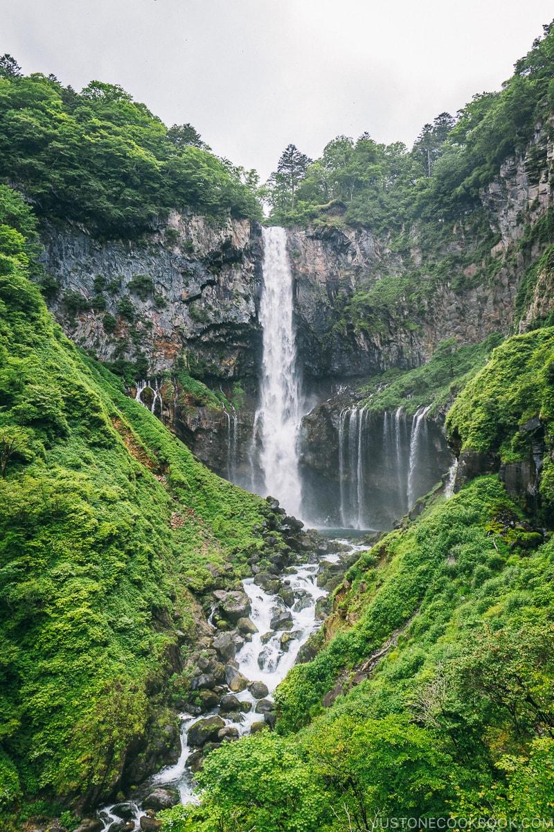 Kegon Falls - Kegon Falls and Akechidaira Plateau | www.justonecookbook.com