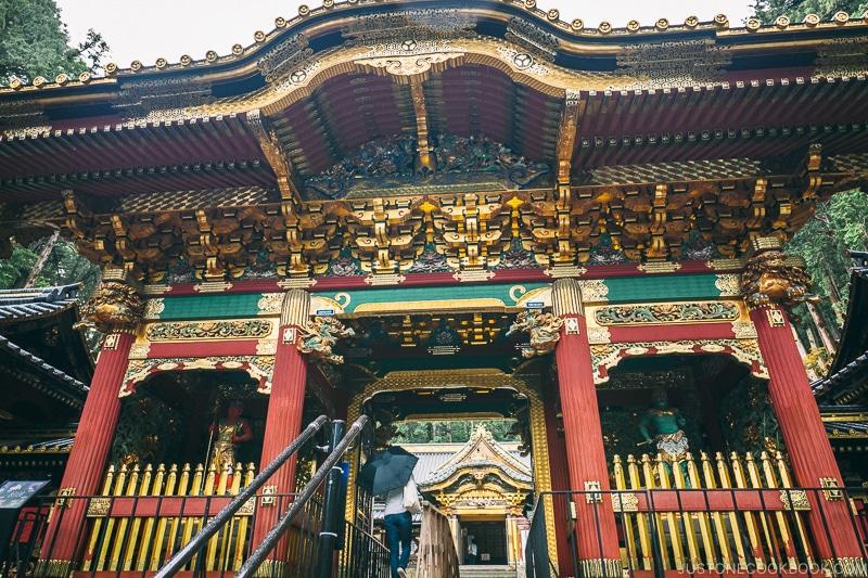 Yashamon at Nikkosanrinnoji Taiyuin - Places to Visit and Things to do in Nikko | www.justonecookbook.com
