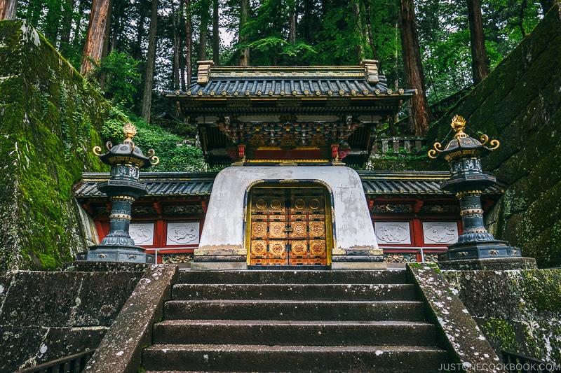Koukamon gate at Nikkosanrinnoji Taiyuin - Places to Visit and Things to do in Nikko | www.justonecookbook.com