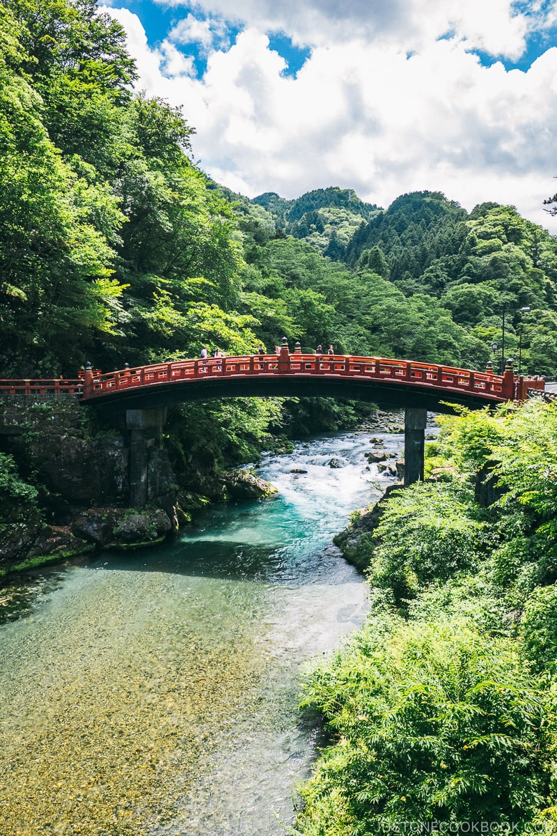 Shinkyo Bridge - Places to Visit and Things to do in Nikko | www.justonecookbook.com