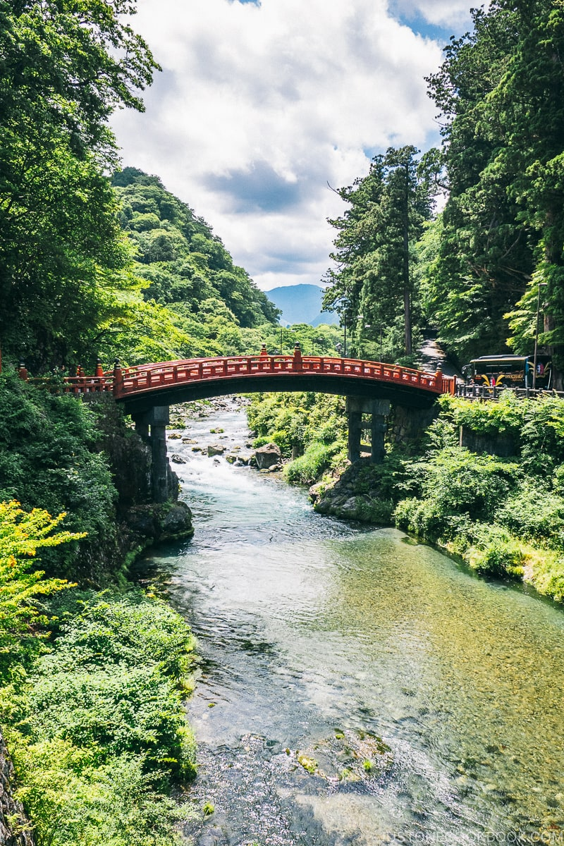Shinkyo Bridge 日光二荒山神社神橋 - Places to Visit and Things to do in Nikko | www.justonecookbook.com