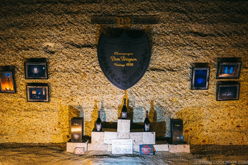 Dom Perignon on display - Oya History Museum | www.justonecookbook.com