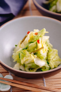 Japanese Pickled Cabbage | Easy Japanese Recipes at JustOneCookbook.com