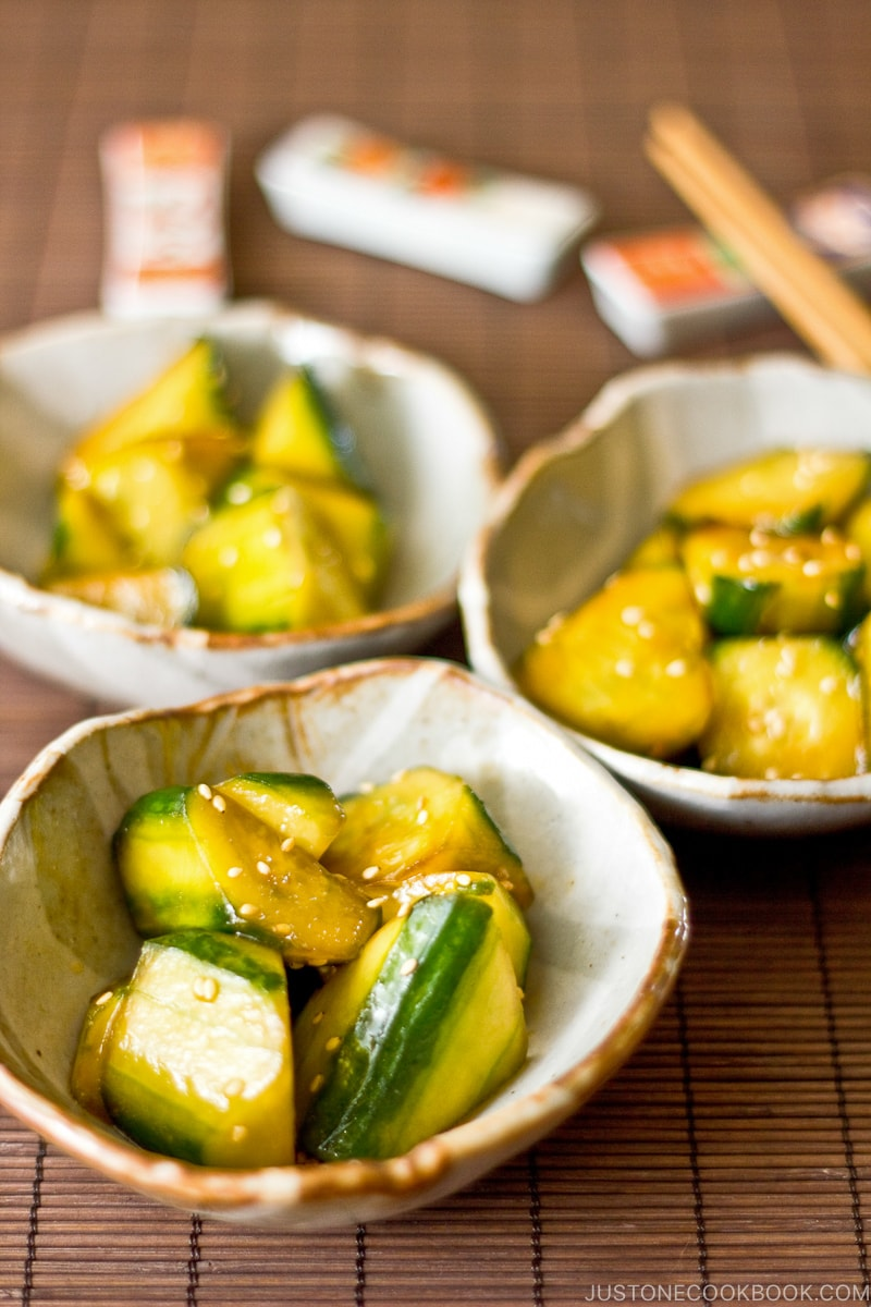Japanese Pickled Cucumber | Easy Japanese Recipes at JustOneCookbook.com