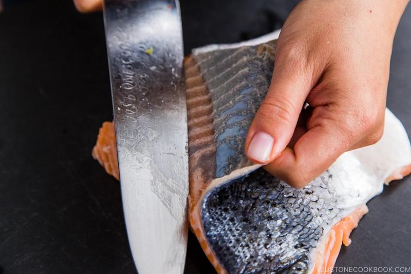 Salmon Nanbanzuke 6