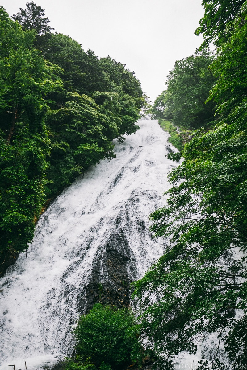 Yudaki Falls - Things to do around Lake Chuzenji | www.justonecookbook.com