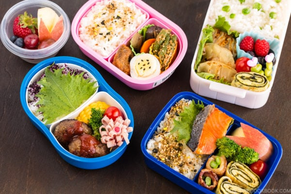 Tutorial of how to make bento.