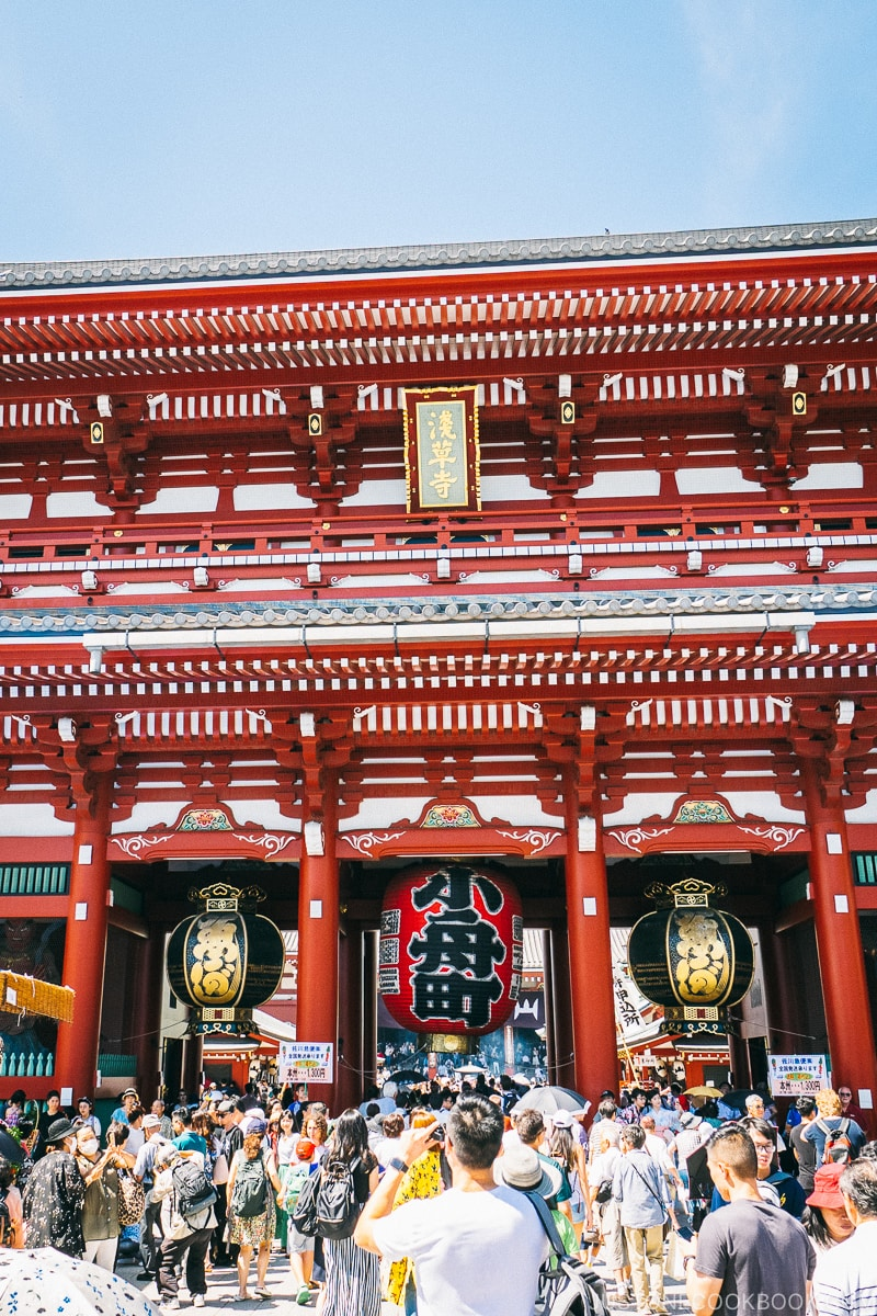 Sensoji Temple at Asakusa - Insiders' Guide for For First Time Visitors to Japan | www.justonecookbook.com