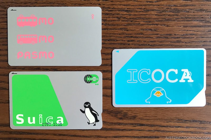 train pass suica pasmo icoca - Insiders' Guide for For First Time Visitors to Japan | www.justonecookbook.com