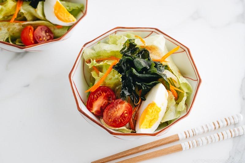 Japanese Salad Dressings - Shoyu Dressing | Easy Japanese Recipes at JustOneCookbook.com