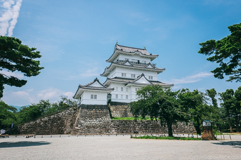 Odawara Castle - Odawara Castle Guide   www.justonecookbook.com