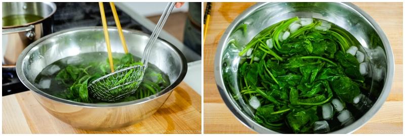 Spinach Ohitashi 8